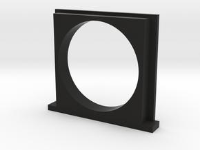 30mm Filter Adapter for Polaroid SX-70 in Black Natural Versatile Plastic
