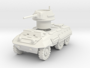 M8 Greyhound scale 1/100 in White Natural Versatile Plastic