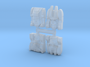 Headmaster Warriors 4-Pack (Titans Return) in Smooth Fine Detail Plastic