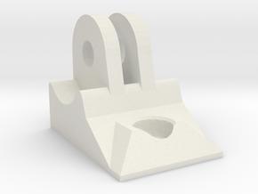 Nestling X3 Cree LED Torch GoPro Adaptor in White Natural Versatile Plastic