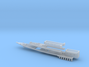 1/700 Survey Ship HMS Sharpshooter Deck in Smooth Fine Detail Plastic
