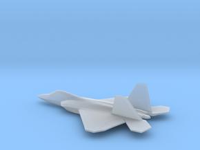 Lockheed Martin F-22 (w/o landing gears) in Smooth Fine Detail Plastic: 6mm