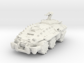 UNSC Mastodon in White Natural Versatile Plastic: 1:100
