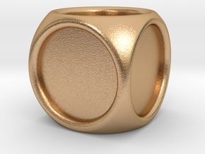 14mm indented die in Natural Bronze