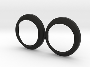 Prescription Lens Adapter - Samsung Odyssey  in Black Natural Versatile Plastic: Medium