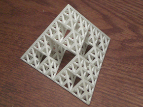Sierpinski Tetrahedron in White Strong & Flexible