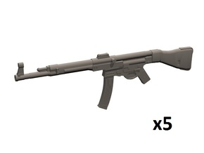 1/24 scale StG44 assault rifles in Smooth Fine Detail Plastic