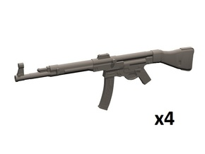 1/18 scale StG-44 in Smooth Fine Detail Plastic