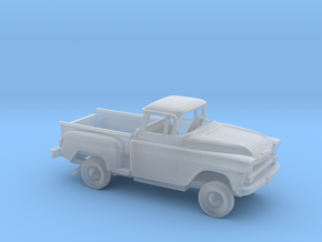 1/87 1958 Chevrolet Apache Stepside Bed Kit in Smooth Fine Detail Plastic