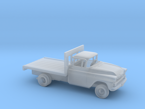 1/87 1958 Chevrolet Apache Flatbed Kit in Smooth Fine Detail Plastic