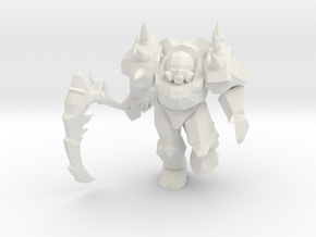 Punk Lord in White Natural Versatile Plastic