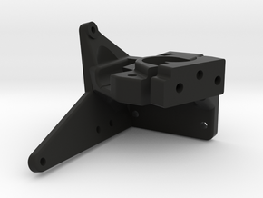 Nimble Mount and Clamp with space for a radial fan in Black Natural Versatile Plastic