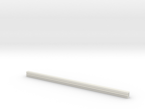 Fujimi Monorail N Gauge Beam for working model in White Natural Versatile Plastic