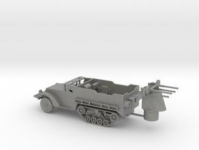 1/87 Scale M16 Halftrack in Gray PA12