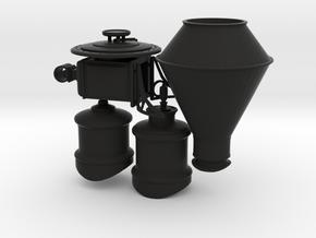 Central Pacific/Stevens Style Details in Black Premium Versatile Plastic: 1:87 - HO