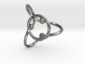 Eternal Loop in Polished Silver