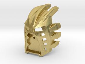 [Titan] Kanohi Avohkii in Natural Brass