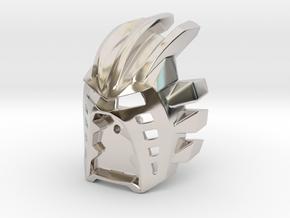 [Titan] Kanohi Avohkii in Rhodium Plated Brass