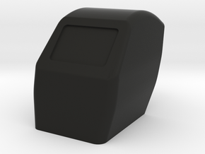 Scale 1/10 welding helmet in Black Natural Versatile Plastic