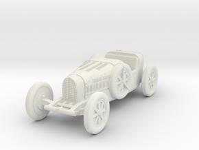 1/87 (HO) Bugatti type 35 in White Natural Versatile Plastic