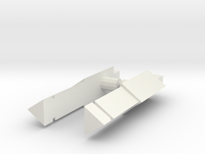 Dlx Vehicon Weapon V1.5 in White Natural Versatile Plastic
