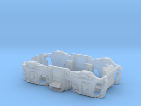 GE U36B - truck sideframe Blomberg in Smoothest Fine Detail Plastic