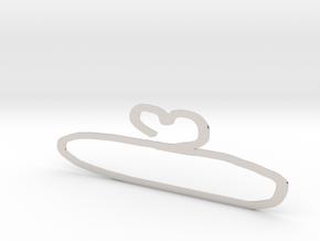 hanger in Platinum: Small