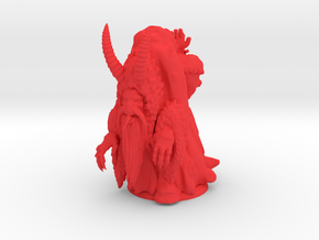 Krampus in Red Processed Versatile Plastic