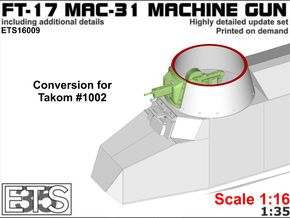 ETS16009 - FT-31 Conversion - for Takom in Smooth Fine Detail Plastic