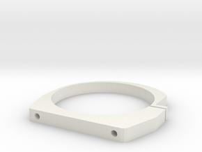 RCRP 102 Lüfterhalter 42mm  in White Natural Versatile Plastic