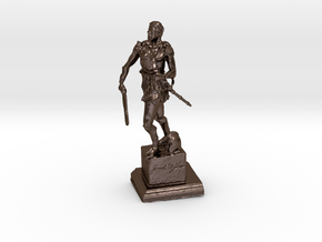 Legionnaire in Polished Bronze Steel