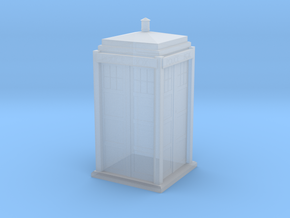 Tardis 1/64 in Smooth Fine Detail Plastic