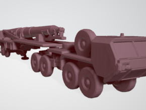 Pershing II Transporter Erector Launcher 1/700 in Smooth Fine Detail Plastic