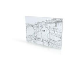 Kristy Bday in White Natural Versatile Plastic