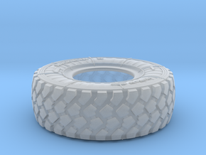 1/16 Mich XZL 395-85R20 MRAP Tire Set003 in Smooth Fine Detail Plastic