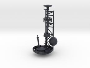 1/72 Burke Mast Top 2 in Black Professional Plastic