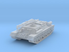 T34 T ARV tank scale 1/144 in Smooth Fine Detail Plastic