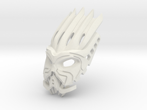 The Element Lord of Fire Face/Helmet in White Natural Versatile Plastic