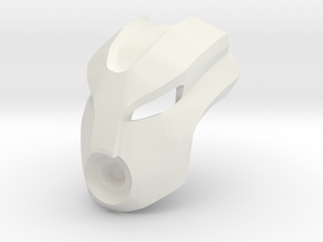 Great Mask of Fusion in White Natural Versatile Plastic
