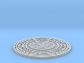 Tapa de alcantarilla Stuttgart-1-35 in Smooth Fine Detail Plastic