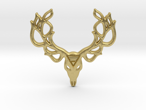 Mythological Elements - Leshy (Earth) in Natural Brass