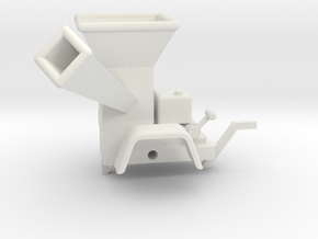 WoodChipper-Yard 43:1 Scale in White Natural Versatile Plastic