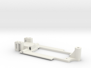 Carrera Universal Chassis for 132 E30 in White Natural Versatile Plastic