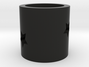 Pen holder in Black Natural Versatile Plastic