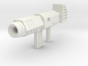 Prime gun redesign 2(deluxe/voyager)  in White Natural Versatile Plastic