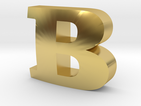 Clarendon-B in Polished Brass