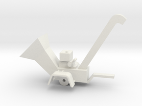 WoodChipper 43:1 Scale in White Natural Versatile Plastic