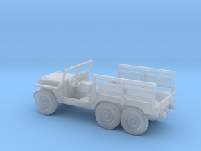 1/100 Scale 6x6 Jeep MT Troop in Smooth Fine Detail Plastic