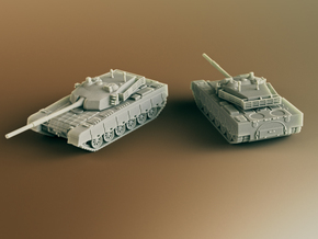 Type 90-II Chinese MBT Scale: 1:100 in Smooth Fine Detail Plastic