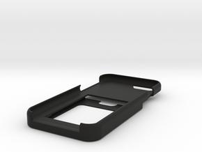 iPhone 7 Card Case w/ Money Slot in Black Natural Versatile Plastic